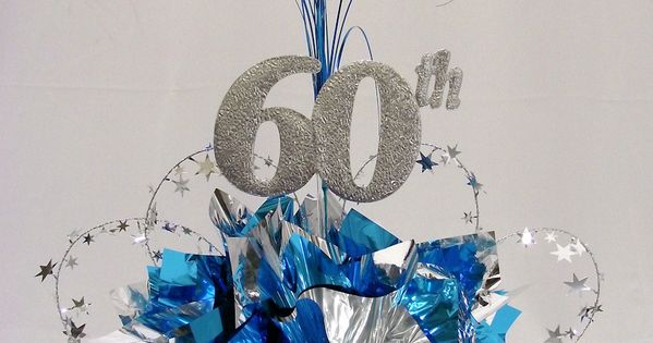 60th Milestone Centerpiece Pinteres