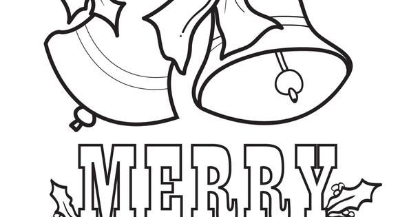 Christmas Bells Coloring Page #5