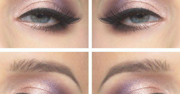 Todays look Peachy purple