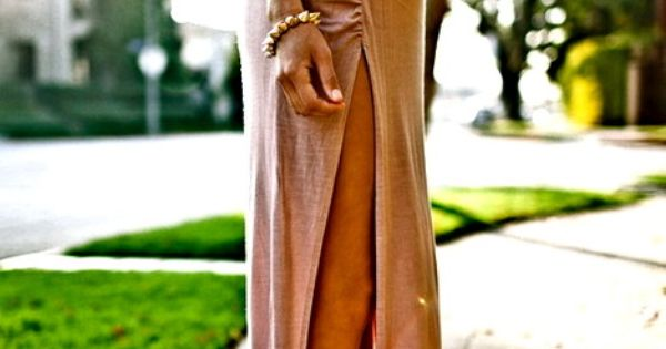 Sexy Minimalist Thigh High Slit Ruched Fitted Split Jersey Long Maxi Skirt
