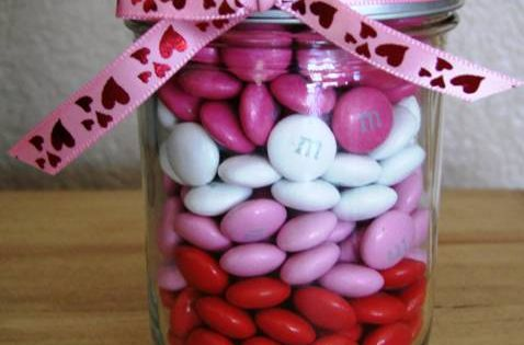 Gifts in a Jar for Valentine's Day! ~ from TheFrugalGirls.com ~ share