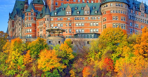 Chateau Frontenac, Quebec City, Canada This is one of the most quaint
