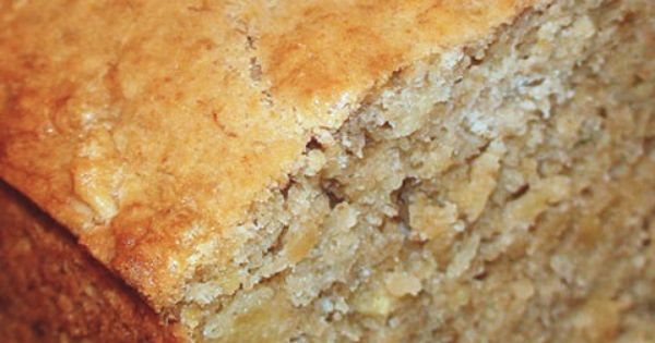 tropical banana bread with cream of coconut and pineapples. Macadamia ...