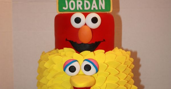Sesame Street Cake - This was a cake for Lilly from I