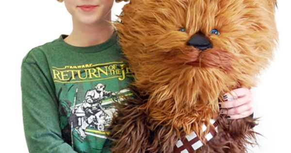 STAR WARS GIANT TALKING CHEWBACCA gift from bf