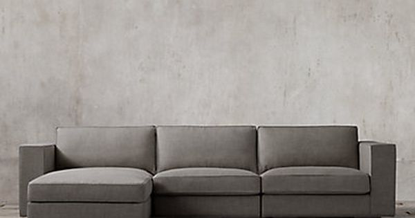 Restoration Hardware Maddox Upholstered Modular Chaise Sectional