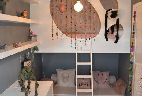 narrow but clever kidroom