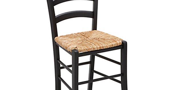Chaise Noire Avec Assise Paille Chaises Bois Chaise Paille Relooking De Chaise