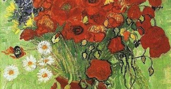 Vincent van Gogh: Red Poppies and Daisies Completion Date: 1890 Style: Post-Impressionism