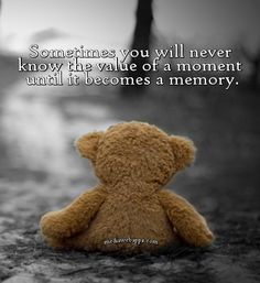 Teddy Bear Quotes (3) | Teddy bear quotes, Memories quotes ...