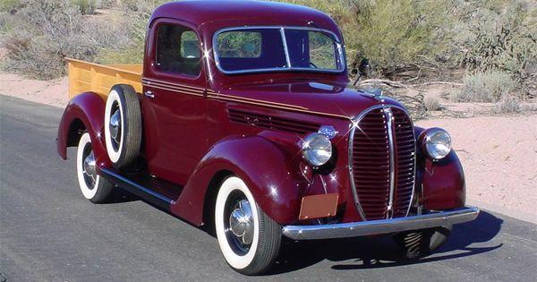 Ford Trucks Cars >> 1938 FORD CUSTOM PICKUP - Barrett-Jackson Auction Company - World's Greatest Collector Car ...