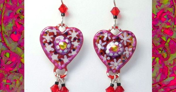 Best gift idea heart earrings valentine gifts under 20 dollars