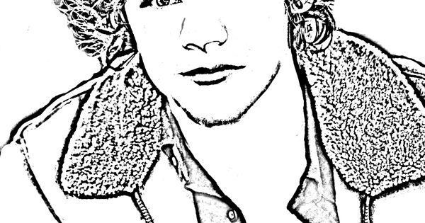 Harry styles s free coloring pages for Harry styles coloring pages