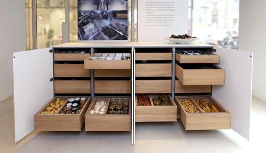 Des Rangements Pour Une Cuisine Fonctionnelle Inspiration Cuisine Cuisine Fonctionnelle Amenagement Cuisine Rangement Haut Cuisine