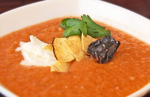 Dried Fava Soup With Mint And Guajillo Chiles Recipe ...