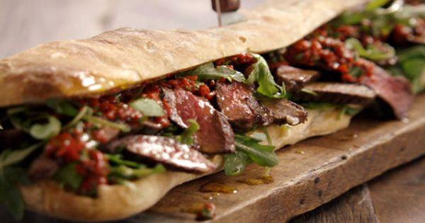 jamie oliver steak sandwich. Black Bedroom Furniture Sets. Home Design Ideas