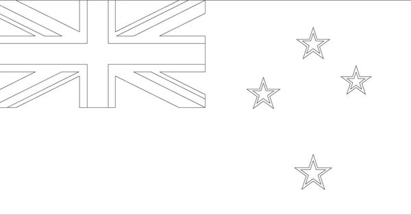 New Zealand flag coloring page :: Sonlight Core C, Window ...
