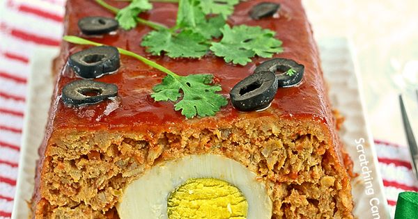 Stuffed meatloaf, Buttermilk mashed potatoes and Eggs on Pinterest