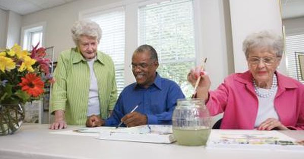 How To Lead An Arts Craft Class For Senior Citizens Crafts For