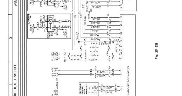 [DIAGRAM] 2000 International 9900 Ultrashift Wiring Diagram