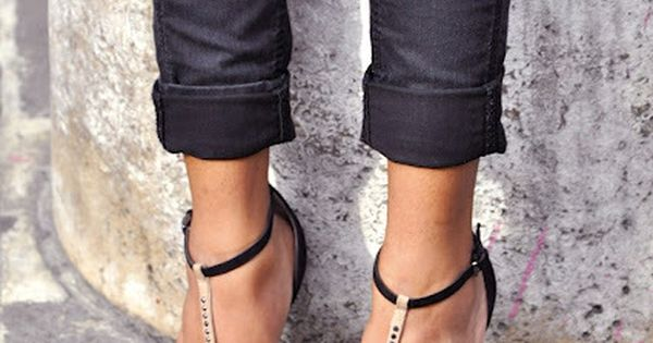 Studded sandals from Zara