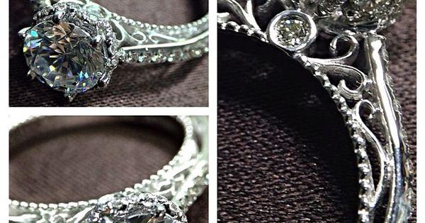 ♥ Verragio Engagement Rings exclusively at CapriJewelersArizona ~ www.caprijewelersaz.com ♥ New Venetian-5052DR