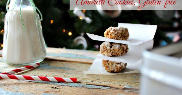 Amaretti Cookies, Naturally Gluten-Free | Recipe | Amaretti Cookies ...