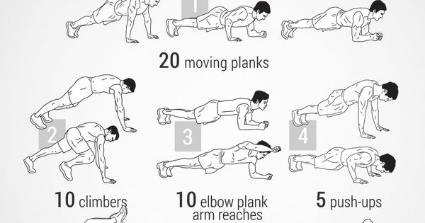 visual workout guides for full bodyweight  no equipment