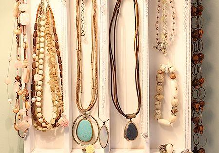rangement bijoux dans un rangement de tiroir projets essayer pinterest bijoux. Black Bedroom Furniture Sets. Home Design Ideas