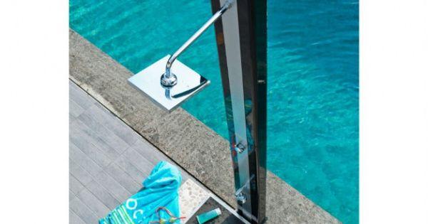 design souhait avec son support noir cette douche. Black Bedroom Furniture Sets. Home Design Ideas