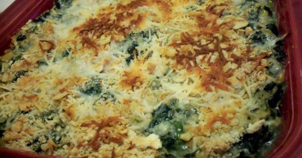Corn casserole, Spinach and Casseroles on Pinterest