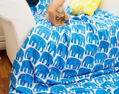Elephant Bedding by Loan Koskela Finlayson. NEEEEEED THIS WAS MADE FOR ME