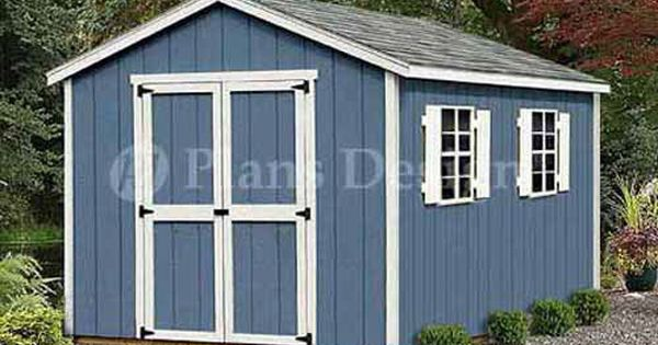 12 X 8 Storage Utility Garden Wooden Shed Building Plans Design 21208 Shed Building Plans Building A Shed Diy Shed Plans
