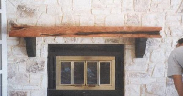 Fireplace Mantels Mesquite Fireplace Mantel With Images