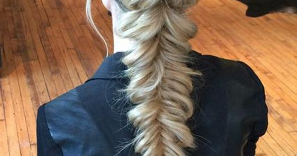 Pull through pony into a fishtail x
