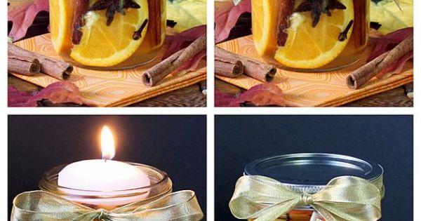 Natural Home Scent Jars