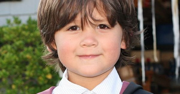 Boy Hairstyles With Bangs: The Most Common Options For Boys Haircuts: Cute Little Boy