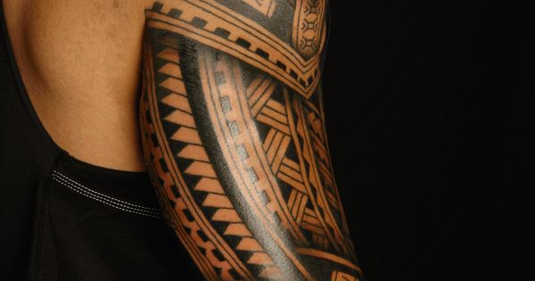 Olored polynesian tattoo email this blogthis share to for Turkish mafia tattoos