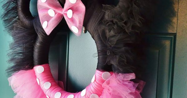 Make it into a Mickey Mouse Wreath