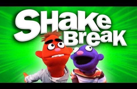 SHAKE BREAK- great to play when kids need to shake out the