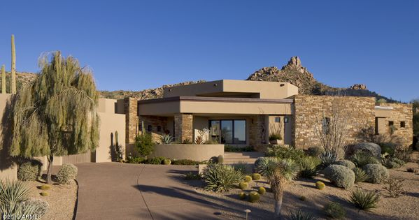 Desert southwest home entrance mid century obsession for Contemporary southwest home designs