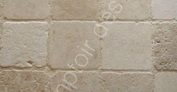 Pav s en pierre de bourgogne 20 x 20 cm cuisine - Peindre des paves autobloquants ...