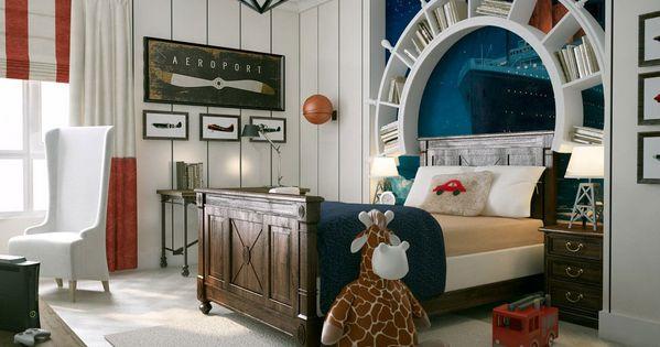 wandgestaltung maritime tapete amazing interior design. Black Bedroom Furniture Sets. Home Design Ideas