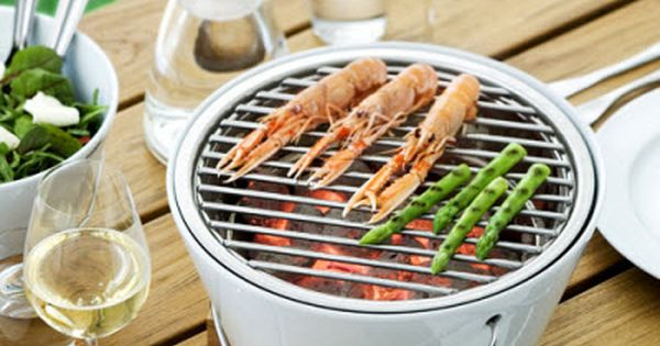 De leukste barbecuetoestellen - Tafelbarbecue van Eva Solo