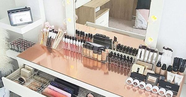 Instagram Worthy Ways To Organize Your Make Up Dailymail Glam