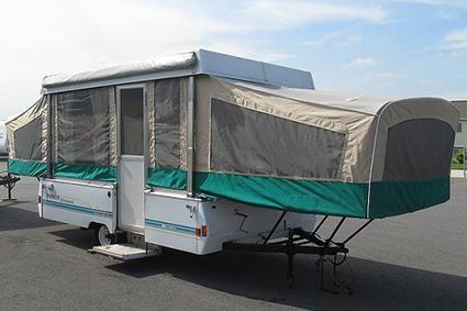 Finding Parts For Coleman Pop Up Campers Lovetoknow Coleman Pop Up Campers Fleetwood Pop Up Camper Pop Up Camper