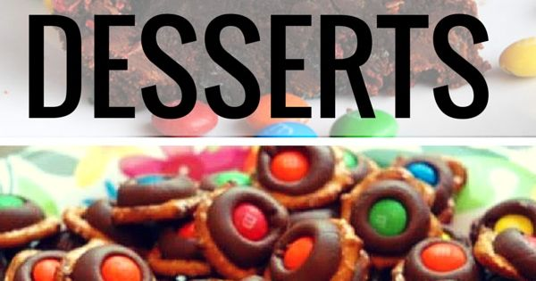 Snaz up your desserts by adding M&Ms! They will undoubtedly melt in