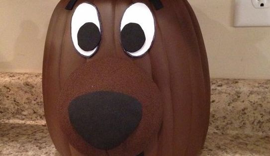 Clever no carve painted pumpkin ideas for kids pumpkin ideas decorating and pumpkin decorating - Outstanding kid halloween decorating design idea using scooby doo pumpkin carving ...