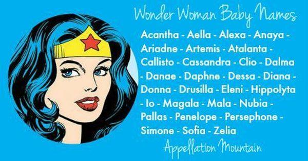 Wonder Woman Baby Names Diana Clio Atalanta Baby Names Baby