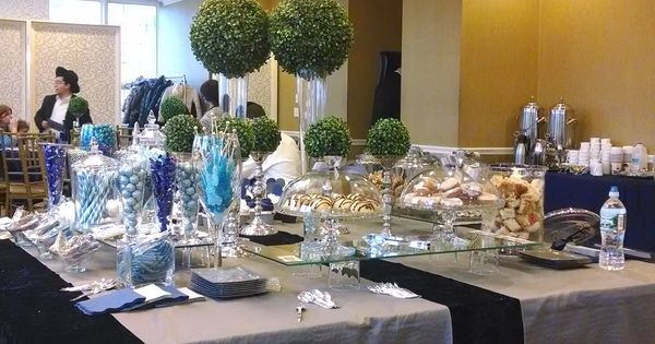 Upsherin Sweet Table Navy And Grey Upsherin Pinterest